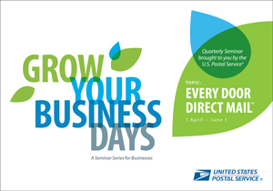 United States Postal Service Grow your business days direct mail