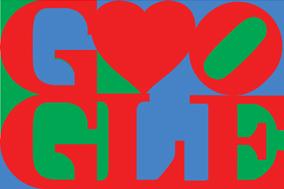 Happy Valentine's Day from Google & Robert Indiana